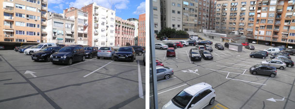 parking exterior pupilaje