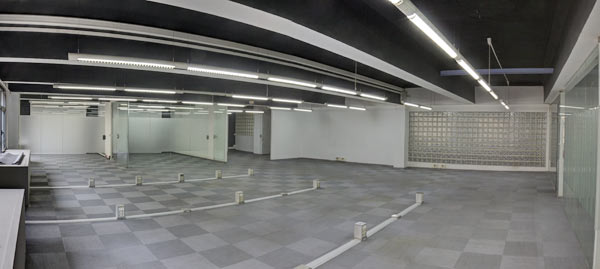 oficina de 350 m2
