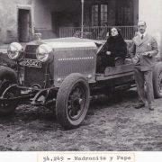 Madronita en un Auto David Barcelona