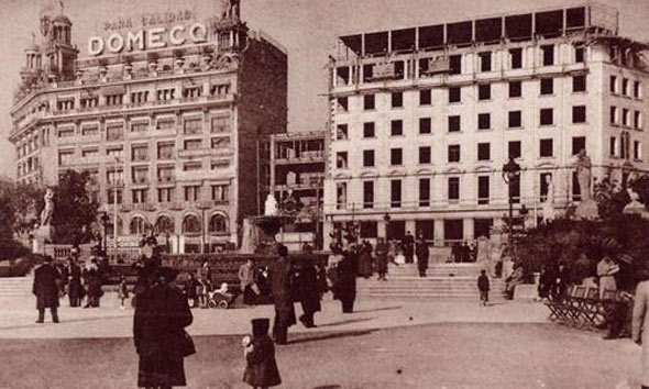 Edificio Banesto Barcelona