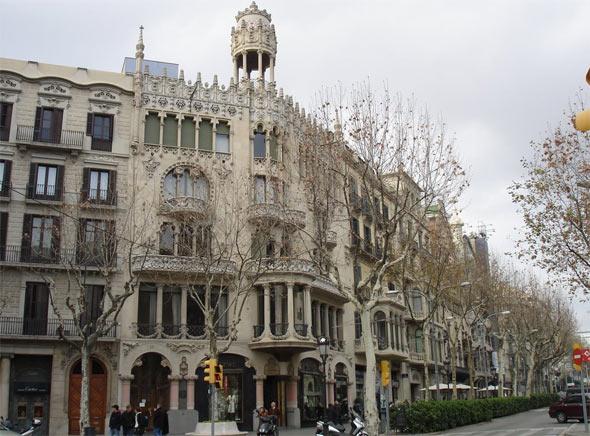 Casa lleó Morera Barcelona