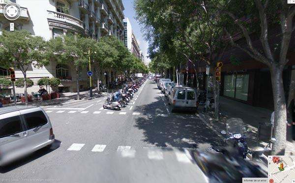 Calle Tuset Barcelona
