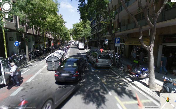 Carre Tuset Barcelona