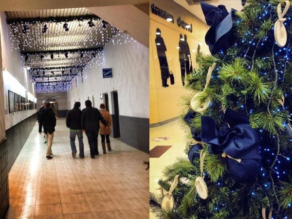 Navidad en Edificio David