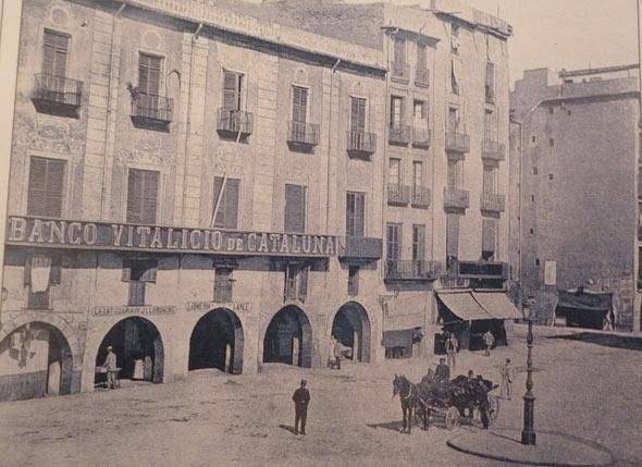 Edificio Banco Vitalicio Barcelona