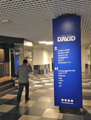 Entrada Edificio David