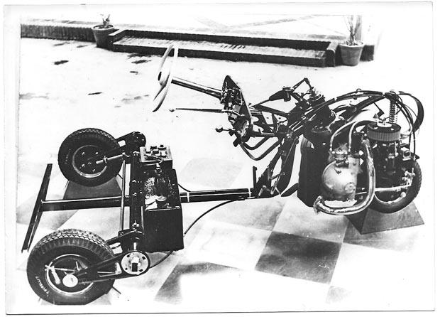 Chasis triciclo David