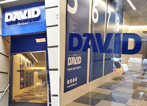 entrada oficinas Edificio David
