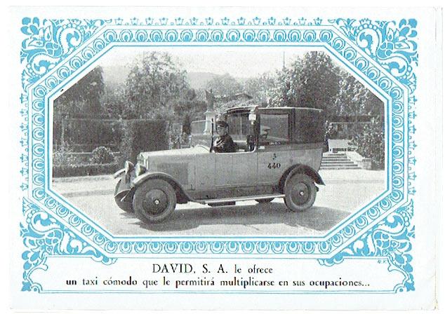 publicidad Taxis David S.A.