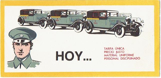 taxis años 30 barcelona