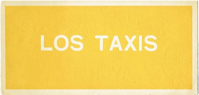 publicidad taxis