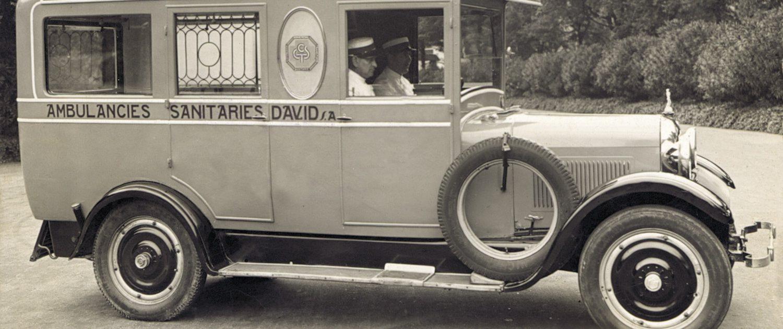 Vehículo sanitario David Barcelona