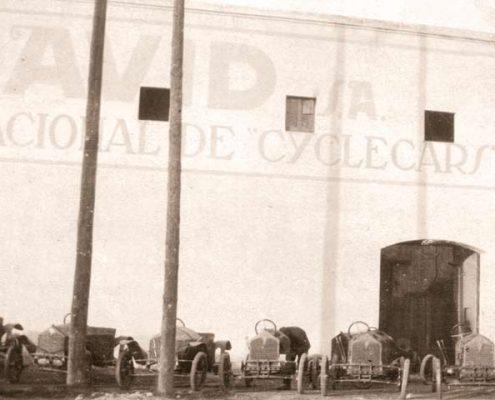antigua fábrica David en la calle Pallars