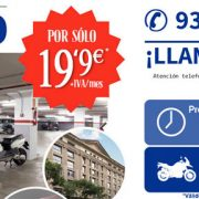 Ofertas en parking para moto en el centro de Barcelona
