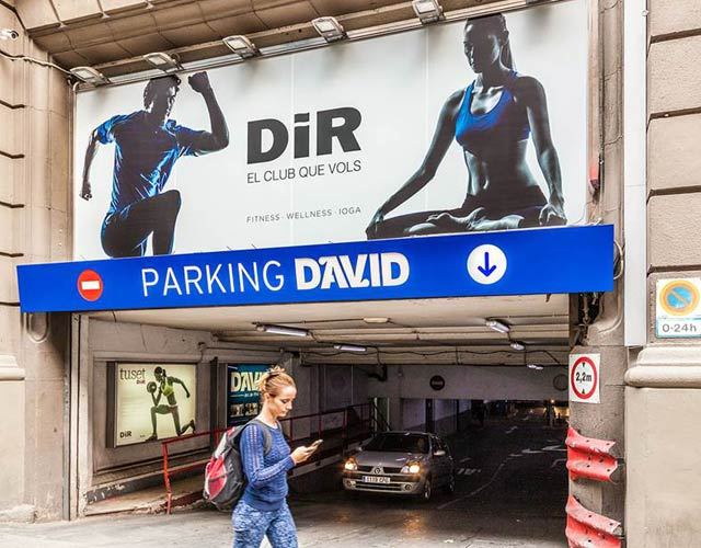 Parking para flotas de vehículos en el centro de Barcelona