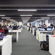 oficinas diáfanas en alquiler en Barcelona