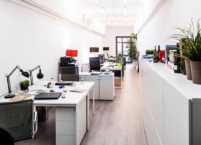 alquiler de oficina diafana en Barcelona