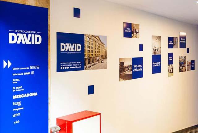 centro comercial David Aribau