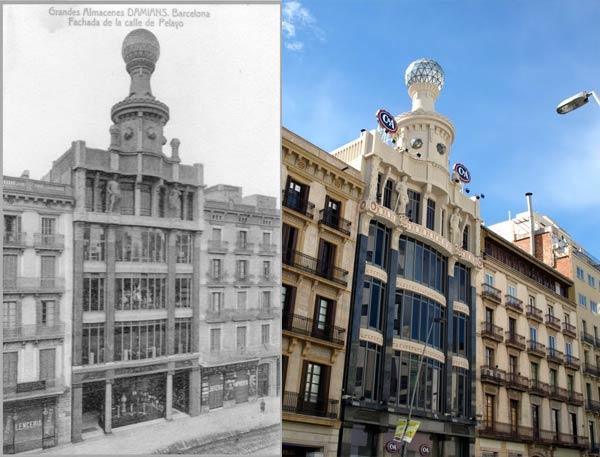 Los Almacenes Damians / El Siglo, Barcelona