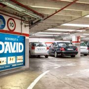onterior del parking David Barcelona