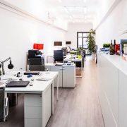 oficina original en Barcelona