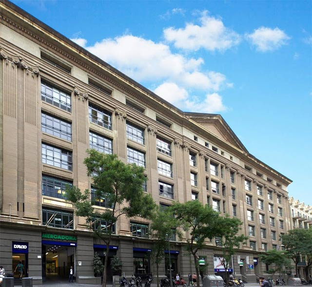 fachada edificio david barcelona
