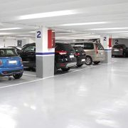 parking amplio en Barcelona