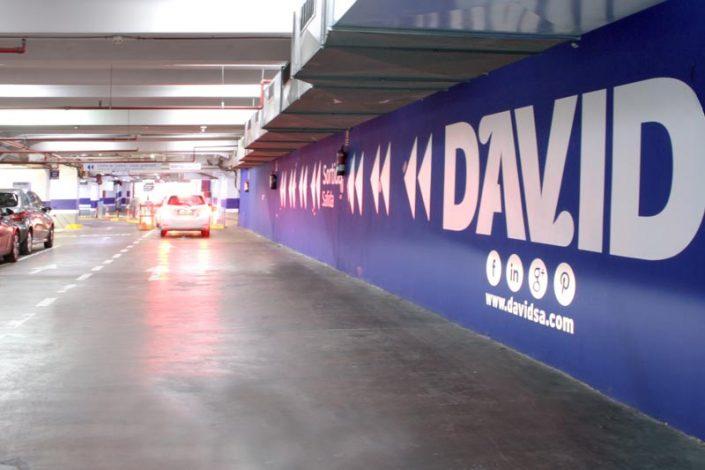Interior Parking David Barcelona