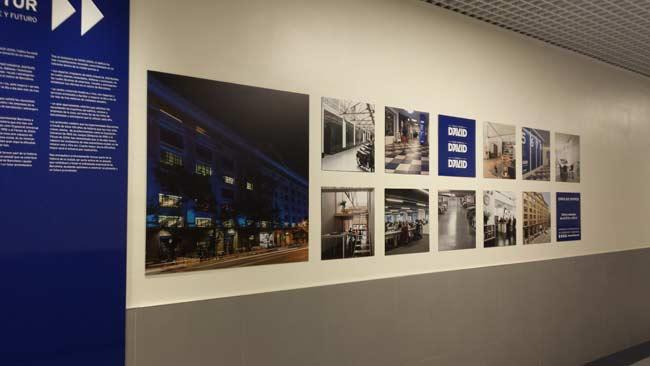 fotos pasillo central Edificio David