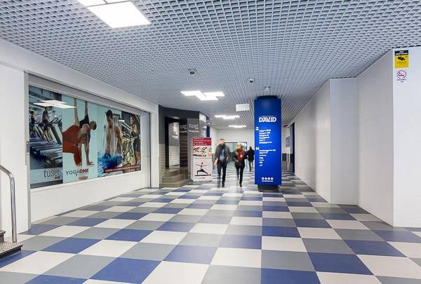 Entrada Centro Comercial David