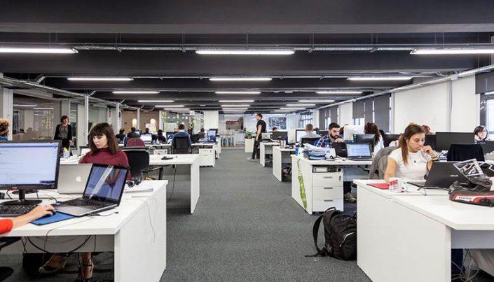 oficinas grandes en alquiler en Barcelona