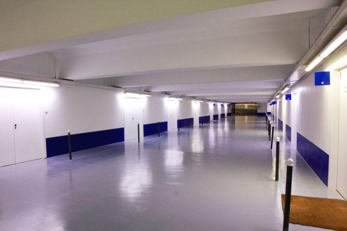 Planta / pasillo oficinas David