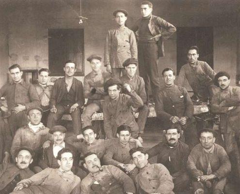 trabajadores de la David Barcelona
