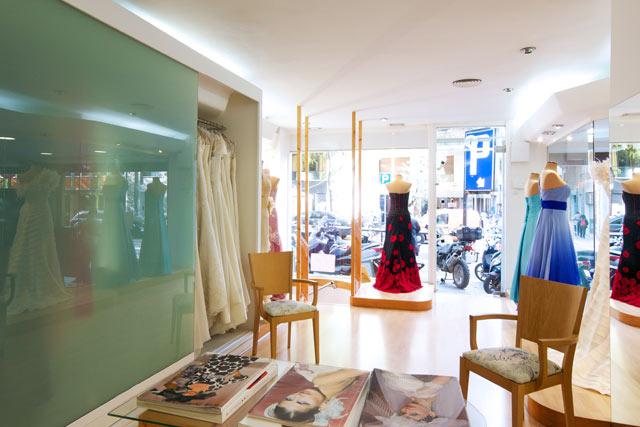 Vista interior local / tienda
