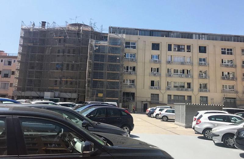 rehabilitación Edificio David Barcelona