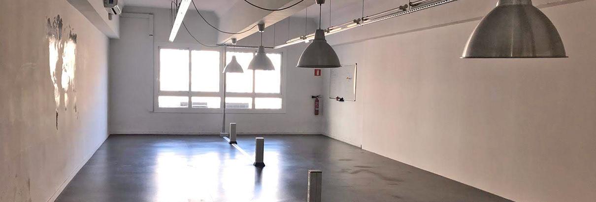 Alquiler de oficina diáfana en Barcelona centro