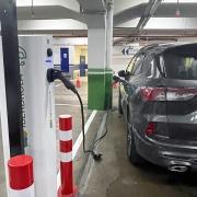 punto de recarga coche eléctrico en Barcelona