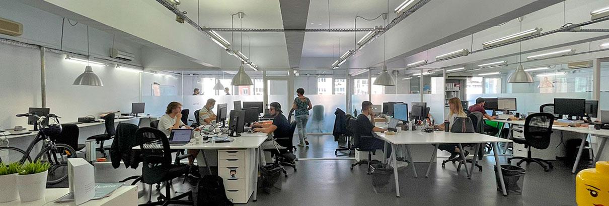 Oficina en alquiler de 230m2 en Eixample, Barcelona